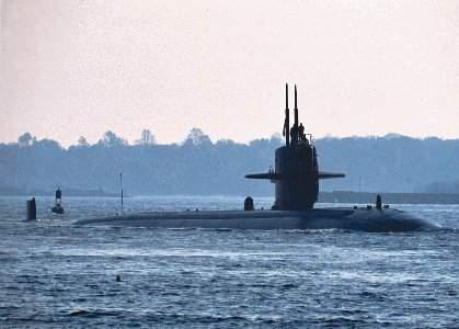 El submarino nuclear Providence