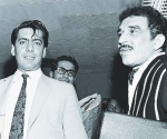Los dos premios Nobel vivos de la lengua española, Gabriel García Márquez y Mario Vargas Llosa