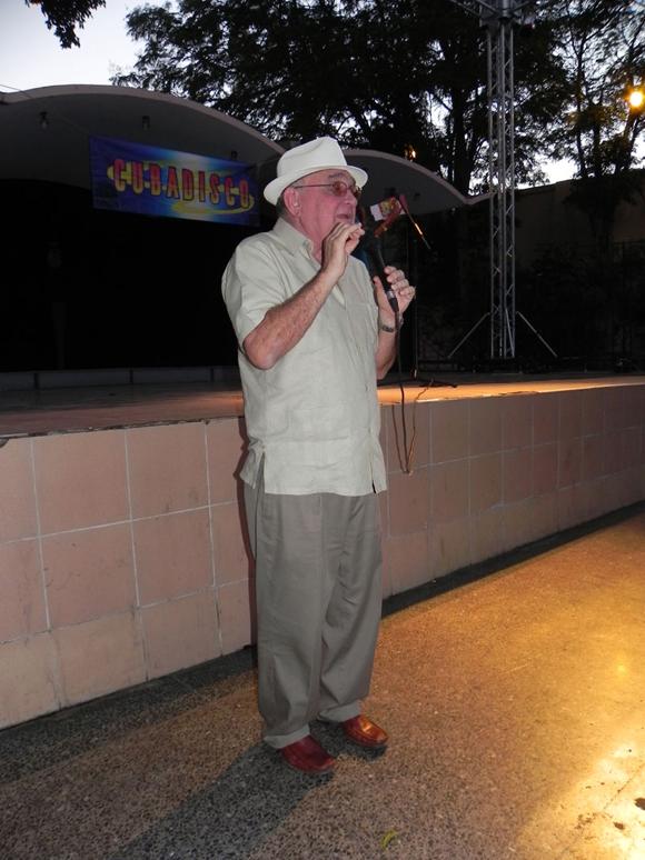 Ciro Benemelis, Presidente de Cubadisco, tuvo a su cargo las palabras de apertura de la presentación de los nominados a Cubadisco 2011