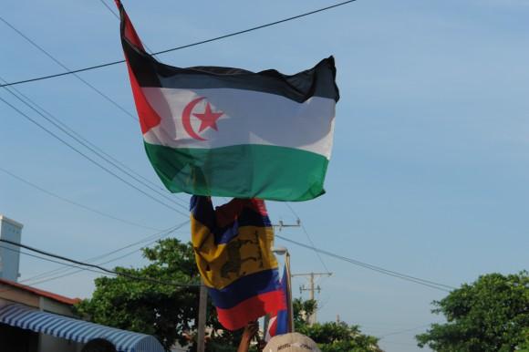 Banderas. Foto: Rafael González Escalona/Cubadebate