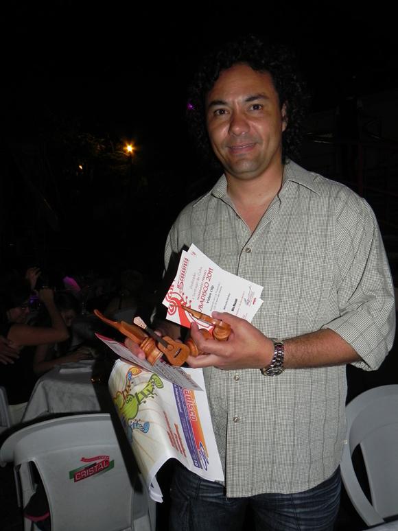 El joven realizador Alfredo Ureta obtuvo varias nominaciones por su video Clip Bailando en la Tropical