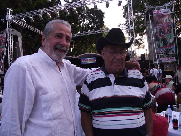 Jorge Gómez y Eliades Ochoa