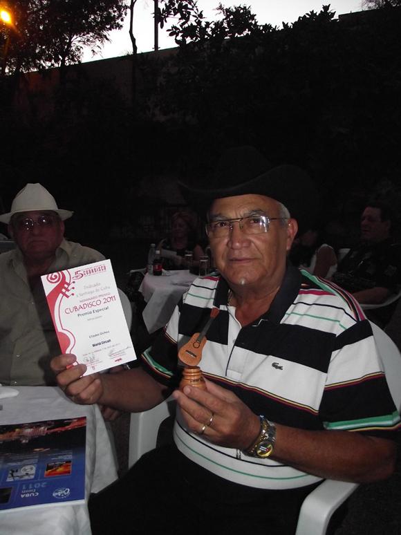 Eliades Ochoa, feliz con su nominación