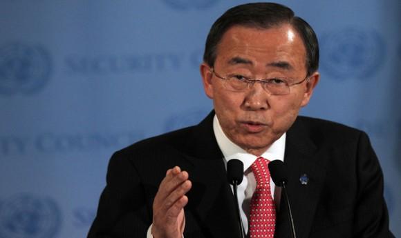 Ban Ki Mon, Secretario General de la ONU