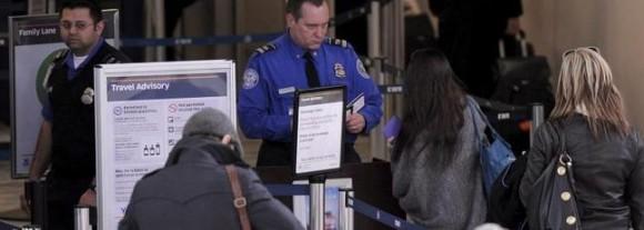 Controles en los aeropuertos de EEUU. Foto: Archivo