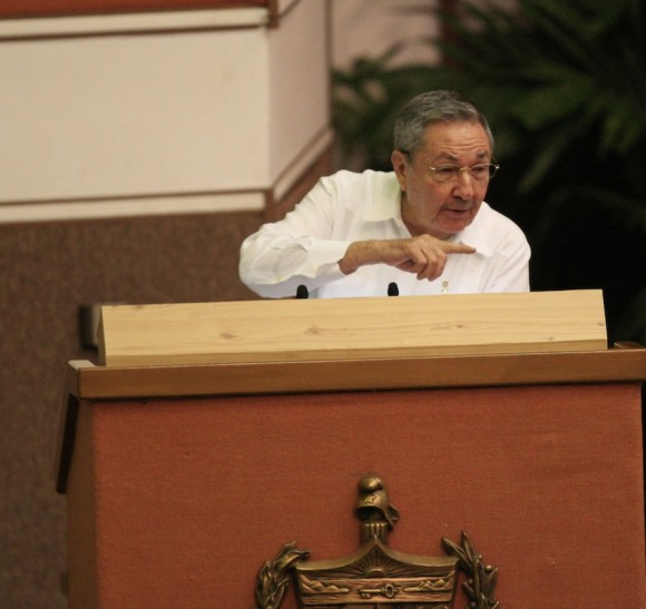 Raul Castro Closed the Congress of the Communist Party of Cuba
