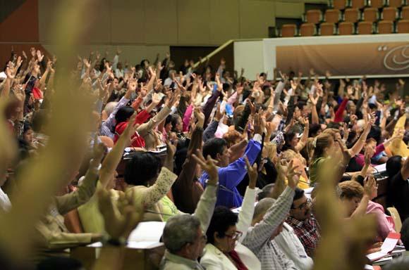 Respaldan creación de Conferencia Nacional en VI Congreso. Foto Cubadebate