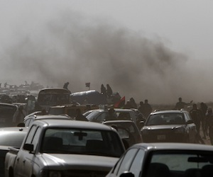 Varios aviones bombardean Trípoli, según Al Yazira