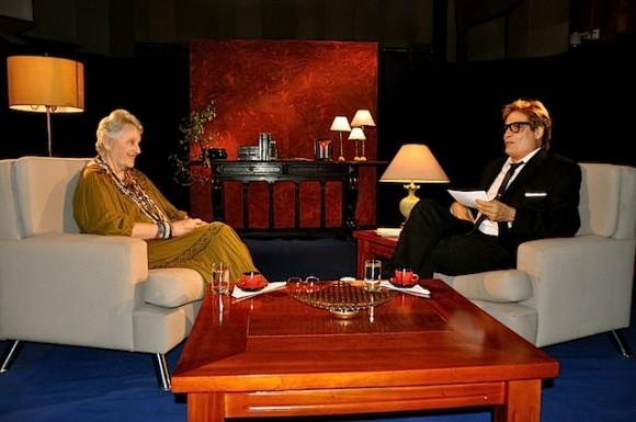 Con Natalia Bolívar en la tarde de sus ochenta (+ Video)