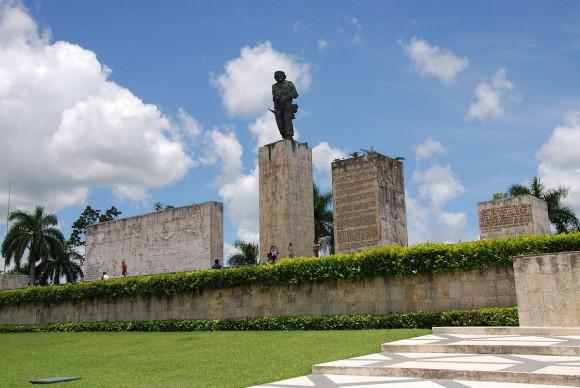 Plaza Che Guevara, en Villa Clara.