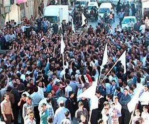 Protestas populares en Siria
