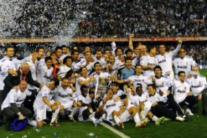 Real Madrid ganó la Copa del Rey 2011