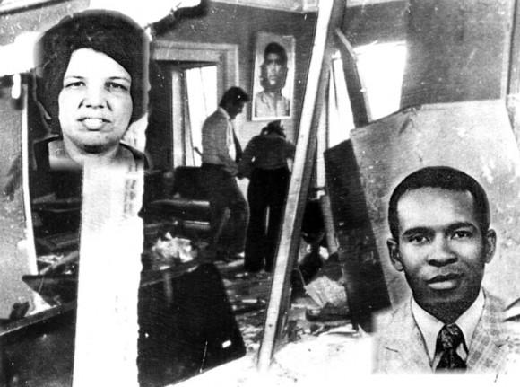 El 21 de abril de 1976, terroristas atentan contra la residencia del Cónsul cubano en Lima, Perú. Al día siguiente el 22 de abril, alrededor de las cuatro y cuarenta de la tarde, cuando los hijos de los funcionarios cubanos estaban a punto de regresar de la escuela, se produjo la explosión de una bomba de alto poder destructivo en la Embajada de Cuba en Lisboa, donde murieron los funcionarios Adriana Corcho Calleja y Efrén Monteagudo Rodríguez