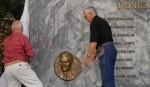 Tarja develada en recordación al martir de la Revolución, Eduardo García Delgado, en Ciudad Libertad, La Habana, Cuba. AIN FOTO OAS