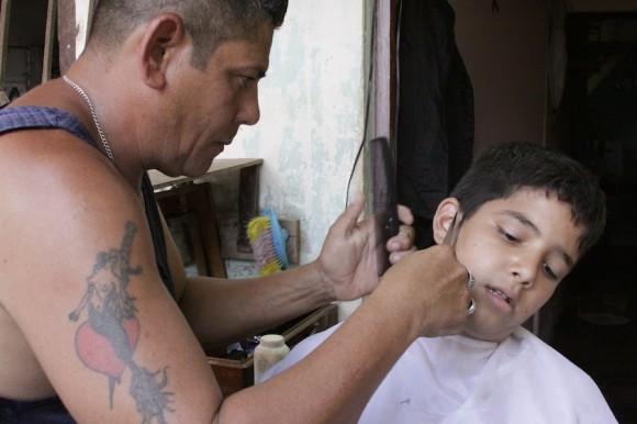 Barbero. Foto: Alejandro Ramírez