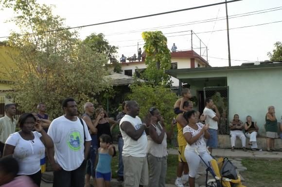 La canción me da todo. Foto: Rafael González/Cubadebate.