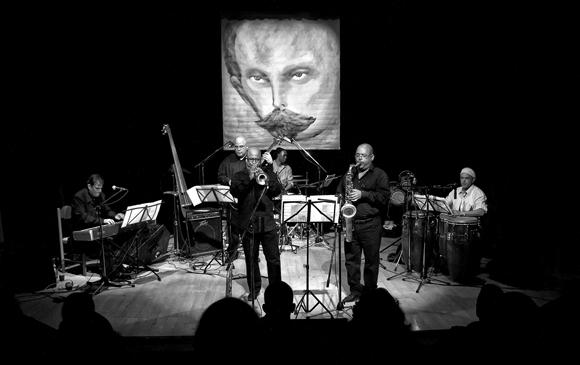 Alexis Bosch y su proyecto jazz cubano en concierto. Foto: Roberto Chile