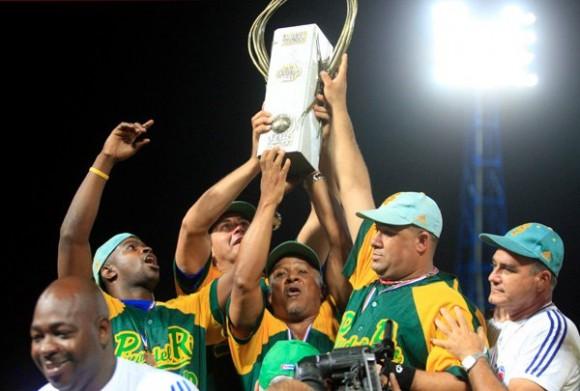Pinar del Río campeón de la Serie de Oro del Béisbol cubano. Fotos: Ismael Francisco, Osvaldo Gutiérrez y Marcelino Vázquez