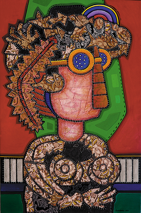 Dama del Sombrero. Foto: Roberto Chile
