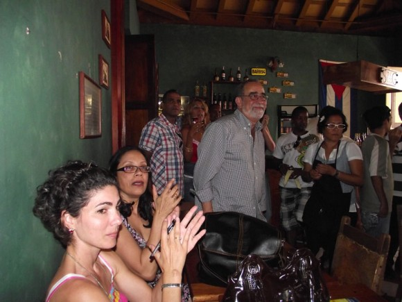 Andy Montañez en Santiago de Cuba. Foto: Marianela Dufflar