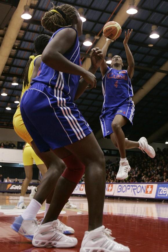 CUBA BALONCESTO - FIBA AMERICAS FEMENINO 2007
