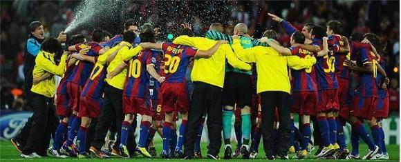 Barcelona Campeón. Foto Cubadebate