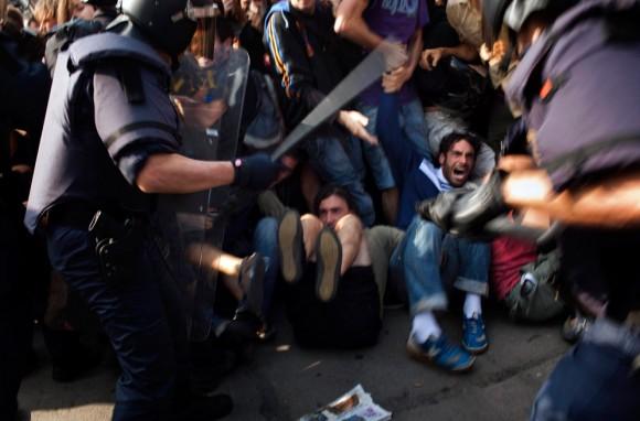 Intervención policial en España