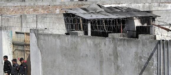Casa donde supuestamente vivía Bin Laden. Foto: Aamir Qureshi / AFP Photo