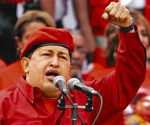 Hugo Chávez, presidente Venezuela