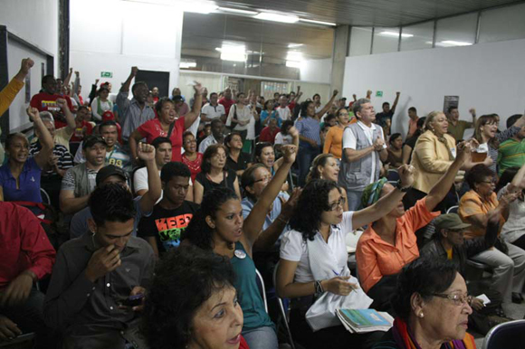 Cinco por los cinco. Foto: 10K/Cubadebate