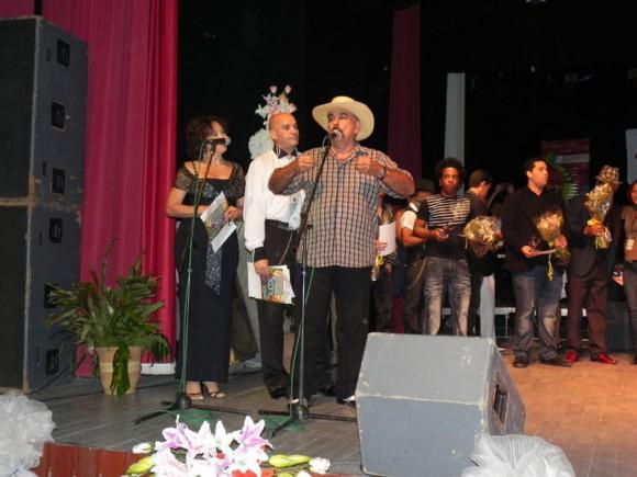 Pedro Nieto. Ganador del segundo lugar compartido en la categoría de Voz.Foto: Marianela Dufflar