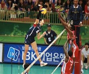 Rusia vence a Cuba 3-0 en Liga de voleibol