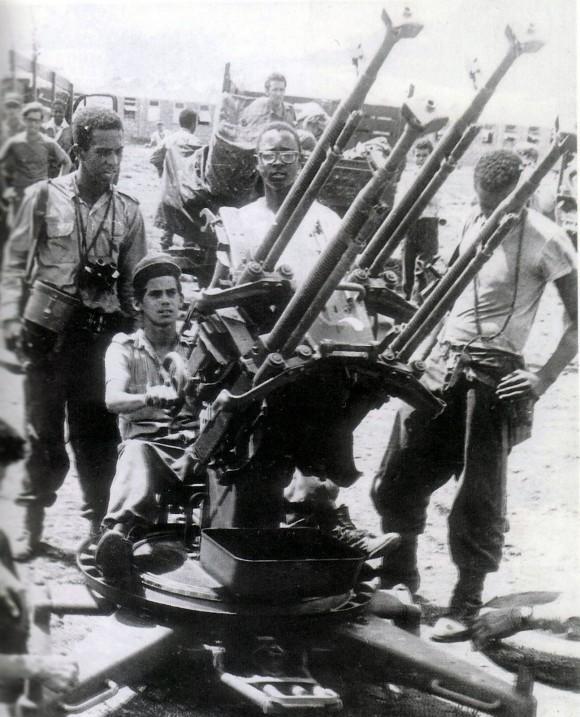 Defensa antiaérea. Foto: Raúl Corrales