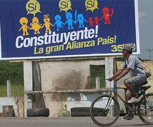 """Ecuador, consulta popular """"Si"""""""