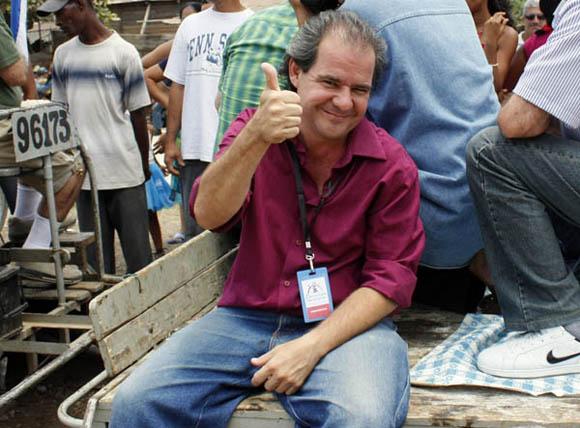 Alexis Triana, el Director de Cultura de Holguín y promotor principal de la Ruta del Son. Foto: Ismael Francisco/Cubadebate