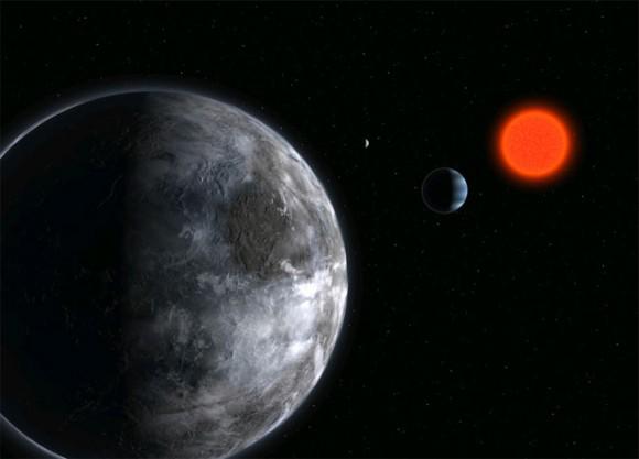 Planeta rocoso alrededor de la estrella Gliese581