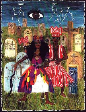 Ilustración tomada de la página Deidad Orisha