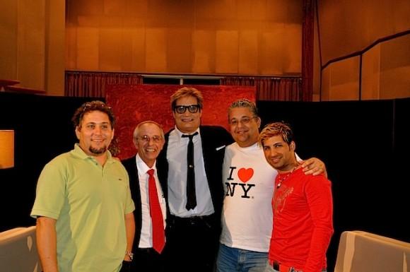 """Jorge Pérez, director del IPK, en """"Con 2 que se quieran"""" que conduce Amaury Pérez. Foto: Petí"""