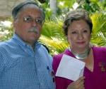 José Pertierra y Carmen Lira