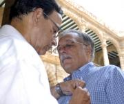 CUBA-ENTREGA DE LA DISTINCION FELIX ELMUSA