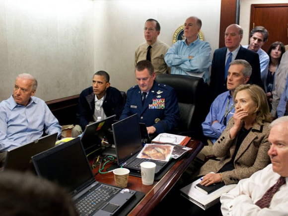 La Casa Blanco siguió en directo ejecución de Bin Laden.