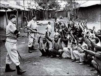 Los Mau Mau en Kenia