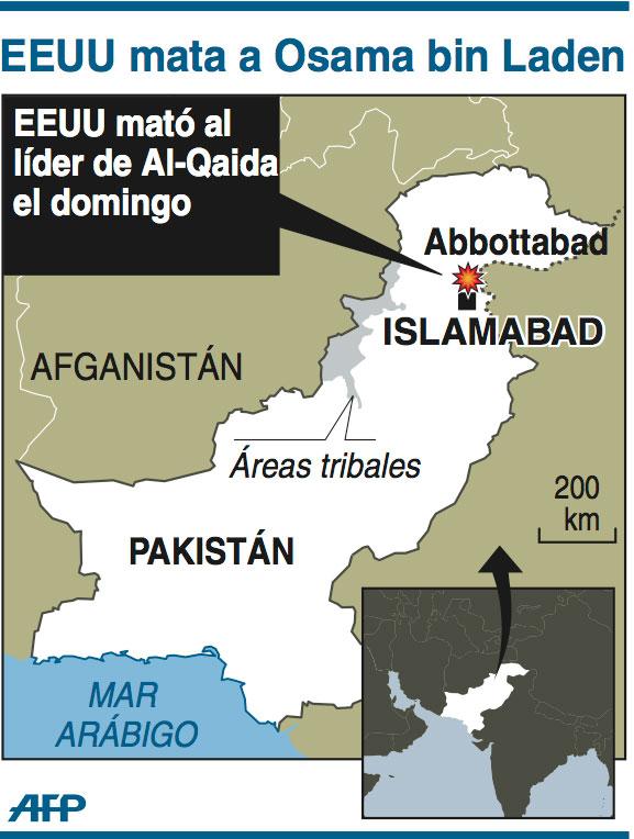 Infografía Osama Bin Laden
