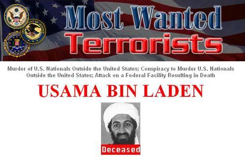 El FBI anunció ayer en su página de Internet que el líder de Al Qaeda está muerto. Foto Reuters