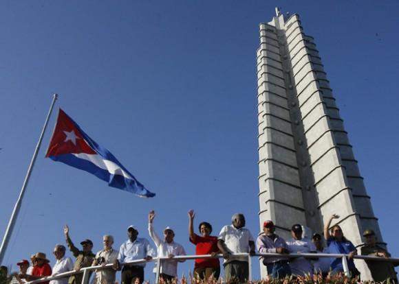 Primero de Mayo en La Habana. Foto: Ismael Francisco