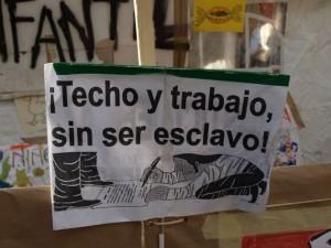Siguen manifestaciones en España en víspera de comicios