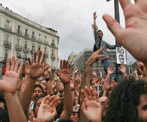 Nueva concentración en la Puerta del Sol de Madrid
