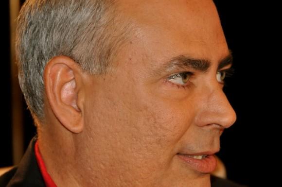 """Reinaldo Taladrid en """"Con 2 que se quieran"""", que conduce Amaury Pérez Vidal. Foto: Petí"""
