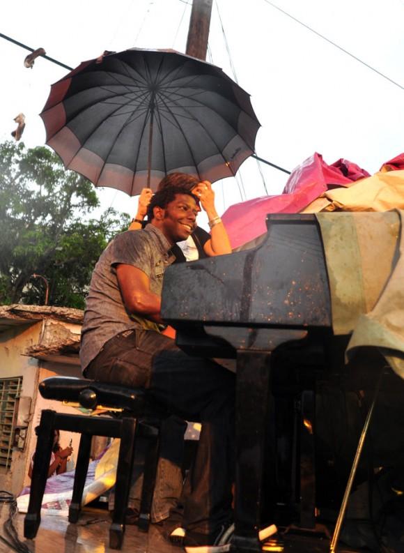 El pianista Rolando Luna. Foto: Kaloian.