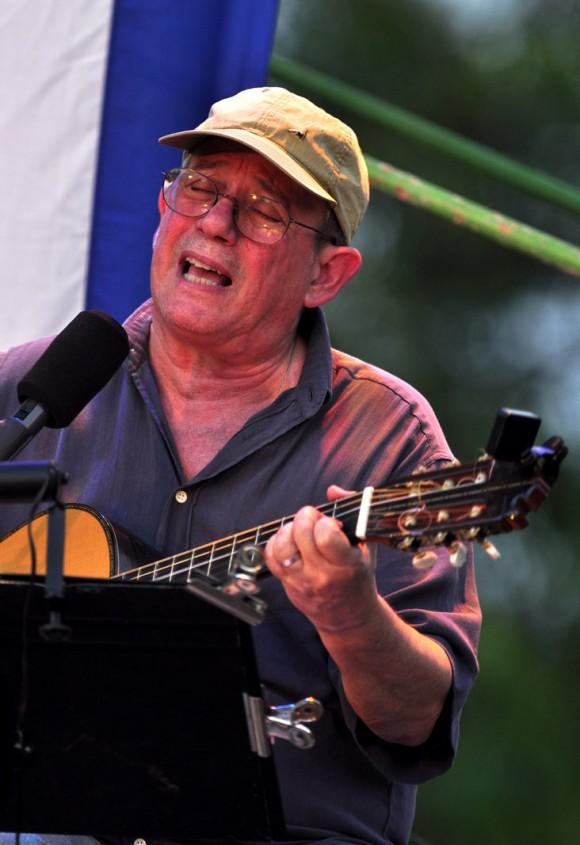 Silvio Rodríguez en el Cotorro, La Habana. Foto: Kaloian